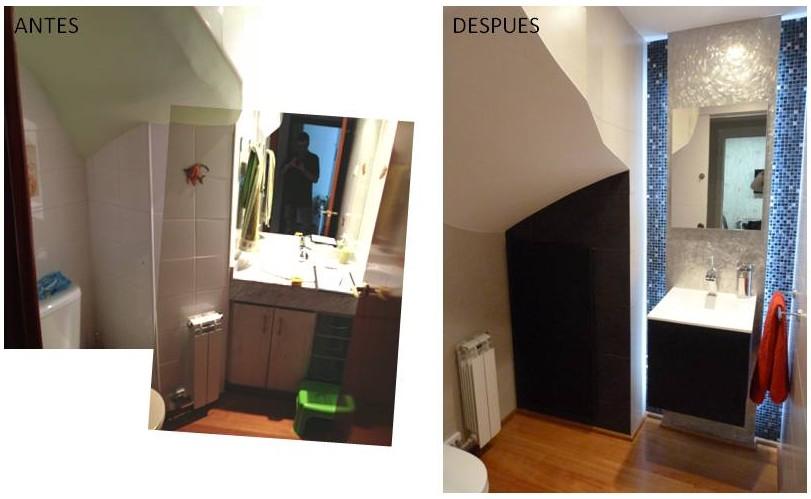 Reforma completa f s renova interiors for Aseo bajo escalera
