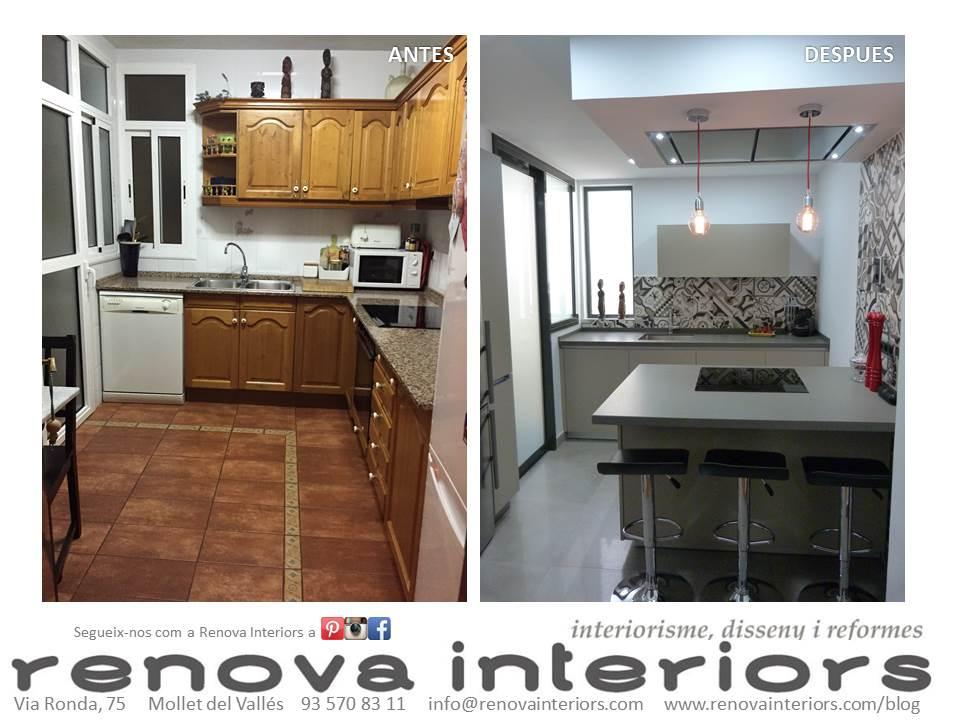 Reforma cocina MJ&P - Renova Interiors