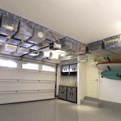 garaje techo