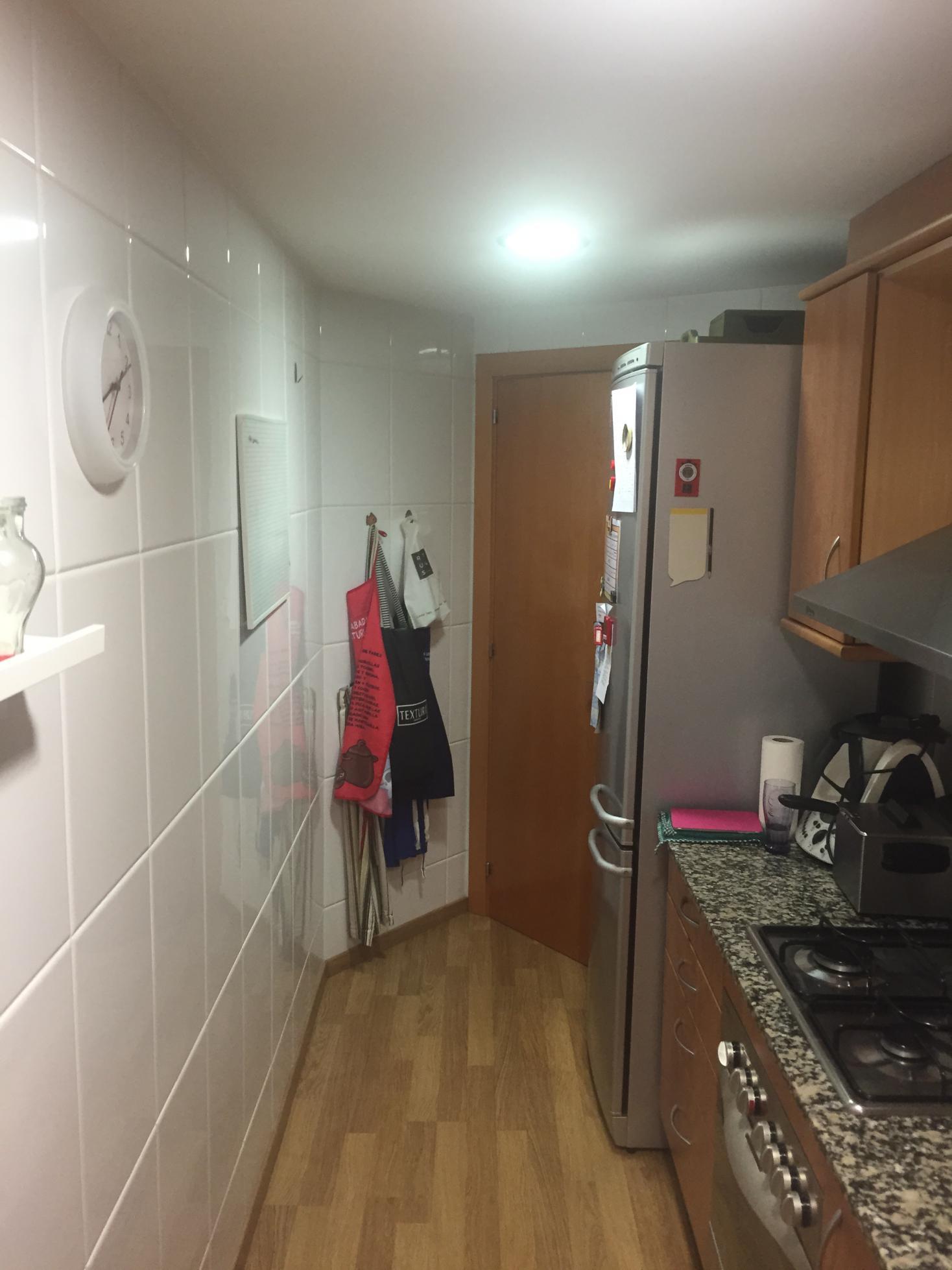 Abriendo la cocina al salón. E&G - Renova Interiors